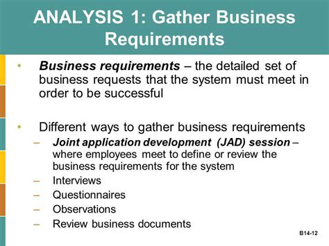joint application design definition business plug in b14 systems development ppt video