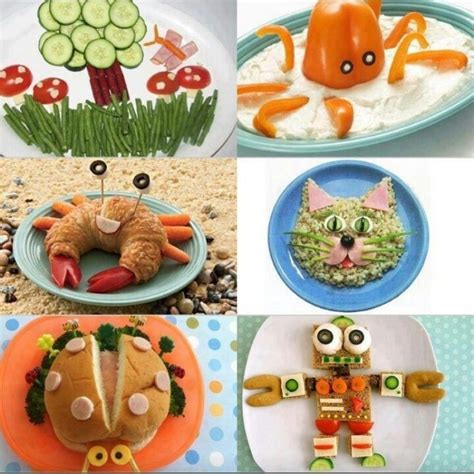 kids lunch decoration image creative meals for meals for creative for and crabs