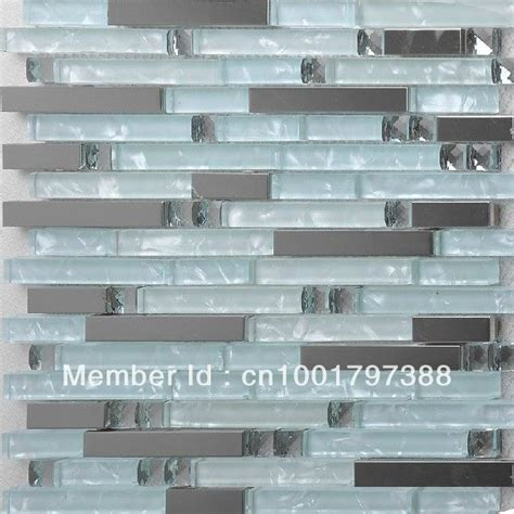 aliexpress com buy interlocking glass mosaic tile