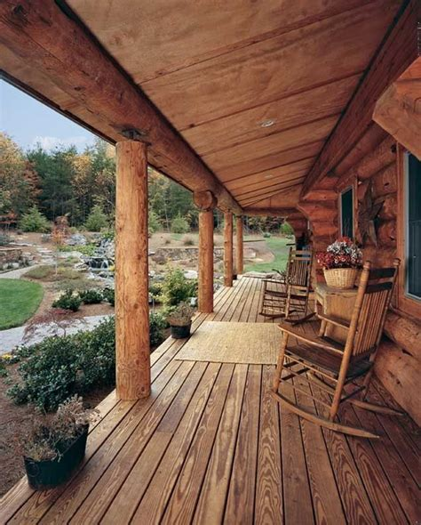 rustic front porch porches patios decks pinterest