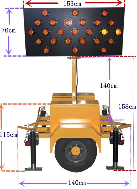 truck mounted work lights led truck mounted arrow board led construction site work