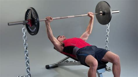 chain bench press the benefits of weight lifting chains bodybuilding wizard