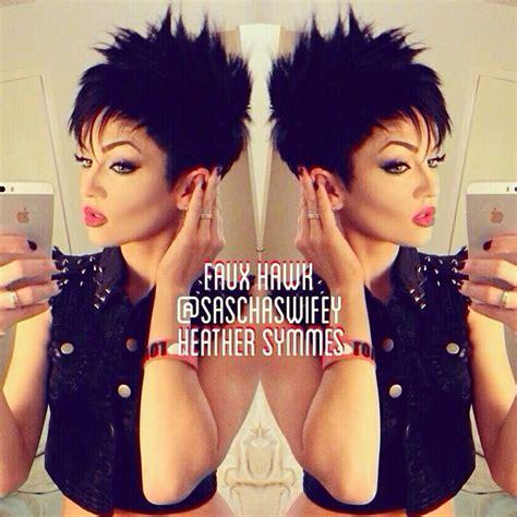 Short hair faux hawk!   Hair   Pinterest