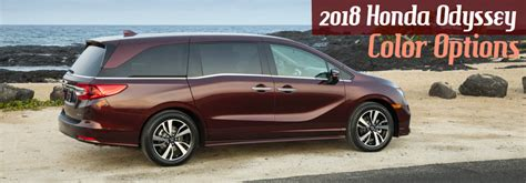 Honda Odyssey Colors by 2018 Honda Odyssey Colors 2017 2018 2019 Honda Reviews