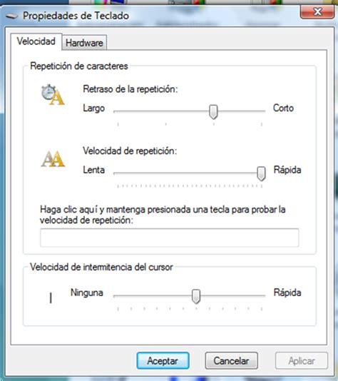 operacion de equipo de computo junio 2012 operacion de equipo de computo configurar el teclado