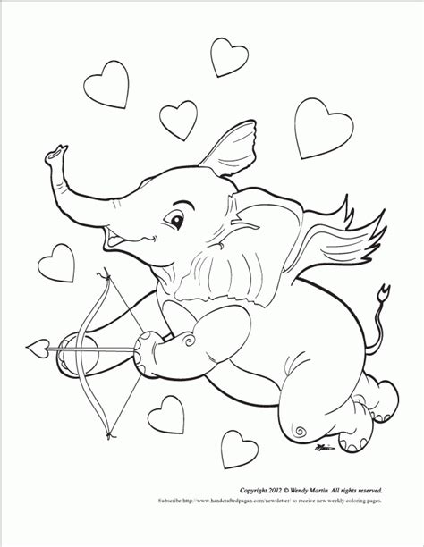 elephant love coloring page elephant love new coloring page coloring home