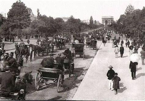 old paris pictures paris 1800 1940 avenue du bois 1900s avenue du bois