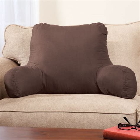 pillow bed rest with arms backrest pillow pillow with arms bed rest pillow