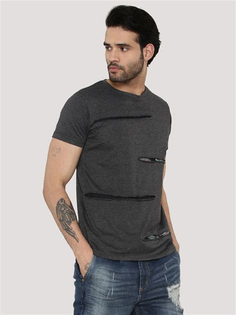 Tshirt Berak 2 buy ripped t shirt with printed base for