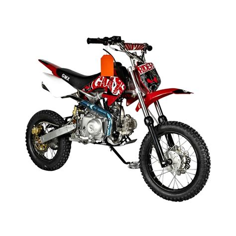 red dirt bike gmx rider red 70cc dirt bike