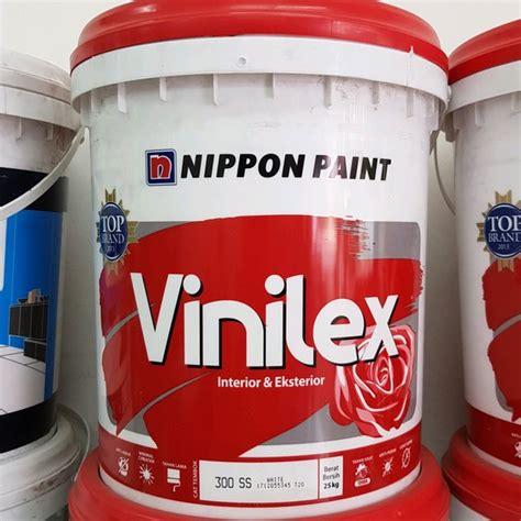jual cat tembok vinilex kg nippon paint vinilex