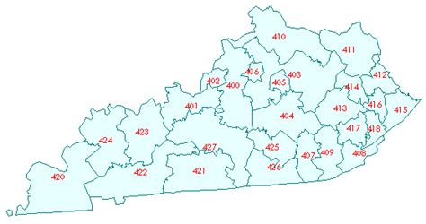 zip code map kentucky image gallery kentucky state code