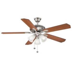 Glendale Ceiling Fan Hton Bay Glendale 52 In Brushed Nickel Ceiling Fan