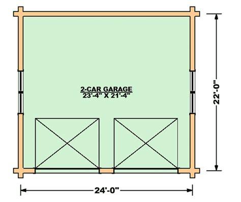 stand alone garage designs two car garage log home plan by lincoln logs international