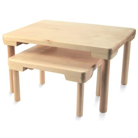Floor Table by Small Nesting Floor Table Montessori Services