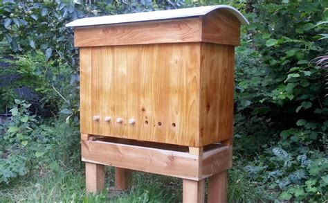 Golden Top Bar Hive by The Modified Golden Hive Bee Hives