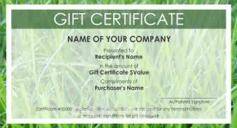 make your own gift certificate template free best photos of print your own gift certificates make