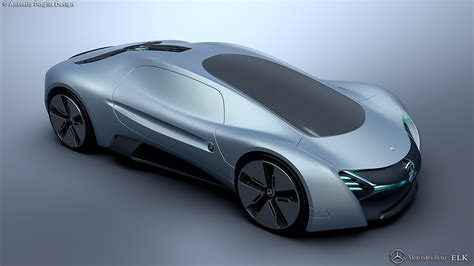 future supercar mercedes elk fits the future ev supercar bill carscoops
