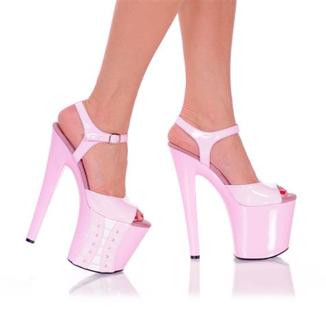 7 inch high heel sandals 7 1 2 quot inch high heel platform sandals shoes from the