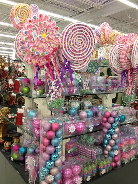 hobby lobby christmas decorations outdoor land items to purchase bebe the oversize lollipops for outdoor
