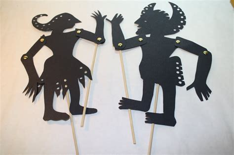 How To Make Paper Shadow Puppets - how to make shadow puppets for www imgkid the