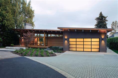 dise 241 o de casa de madera de una planta construye hogar