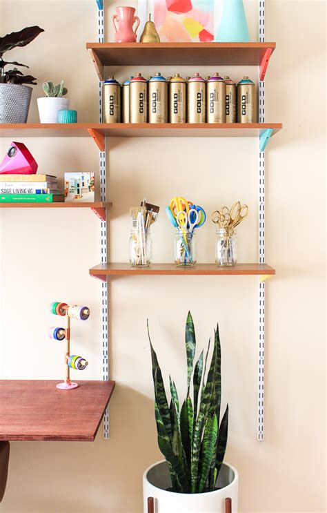 diy wall mounted desk pinned it made it loved it diy mounted wall desk the