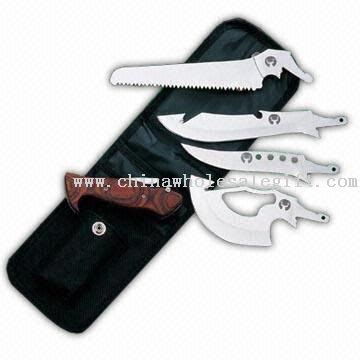 price chopper western lights pocket knife combines with saw axe and chopper saw axes
