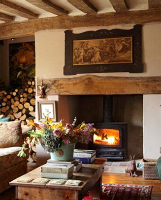 Fireplace Cottage by 25 Best Ideas About Cottage Fireplace On Living Room Place Ideas Wood Burner