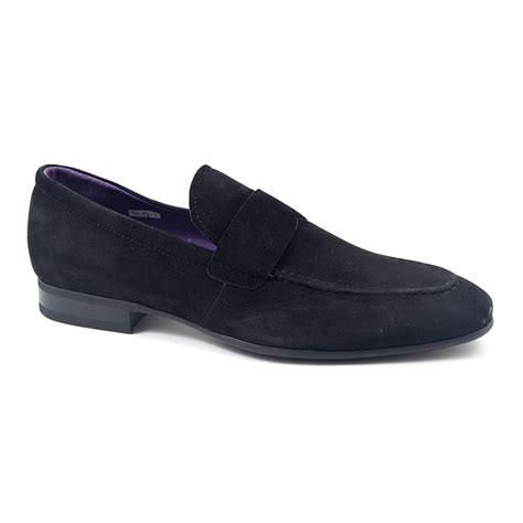 loafers suede buy mens black suede loafers gucinari mens loafers