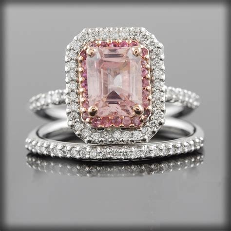 Pink Sapphire Engagement Rings by Vintage Pink Sapphire Engagement Rings Www Pixshark