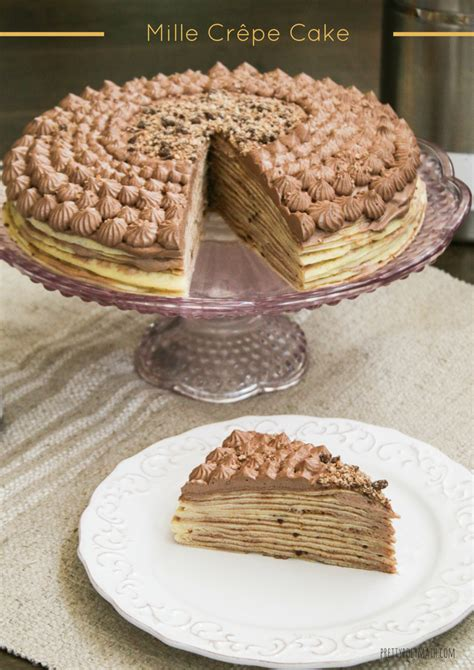 Mille Crepes Cake mille cr 234 pe cake milk cardamom
