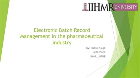 Mba In Pharmaceutical Management Rutgers Linkedin by Ebr Management In The Pharmaceutical Industry