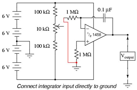 analog circuit integrator integrator analog integrated circuits
