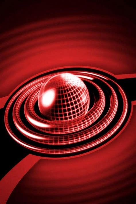 3d cell phone wallpaper 3d red ball circle iphone 4 wallpapers free 640x960 nice