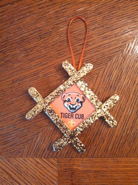 cub scout christmas ornament ideas best 25 tiger cub scouts ideas on