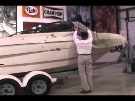 how to install a boat cover how to install a custom boat cover iboats youtube