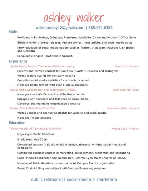 Walker Resume by Walker Resume