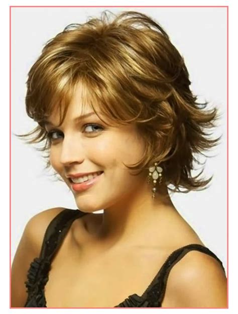 curly hairstyles for round faces over 40 pretty ideas short hairstyles for thick wavy hair and