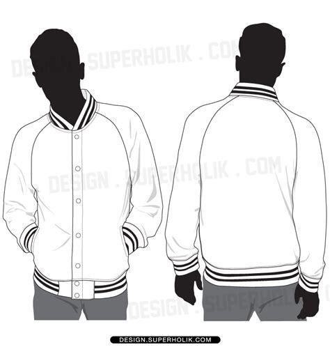 letterman jacket design template fashion design templates vector illustrations and clip