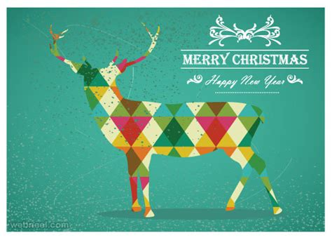 25 beautiful business christmas cards designs for your