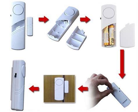 Dijamin Lu Tidur Sensor alarm rumah anti maling harga murah meriah harga jual