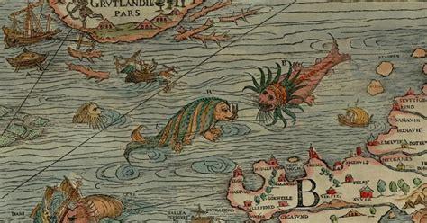 sea monsters on medieval unicorns serpents and mermaids medieval sea monsters