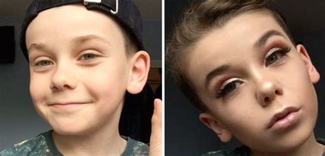 tutorial makeup young young boy does his own sassy af make up doesn t give a s