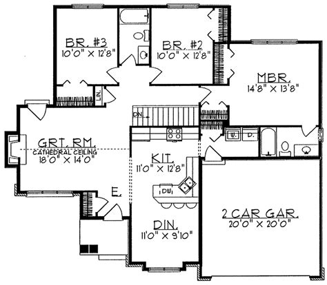 prairie ranch apartments floor plans prairie ranch home plan 051d 0058 house plans and more