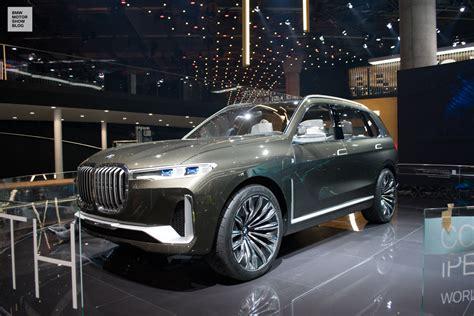 bmw concept 2017 bmw concept x7 luxury sav live at iaa 2017