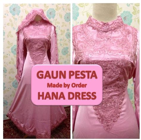 Supplier Baju Jumbo Tusya Blus Ori By Hana gaun pesta hana dress www supplierbusanamuslimah