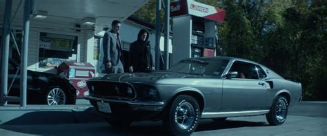 ford mustang 1969 car driven by keanu reeves in
