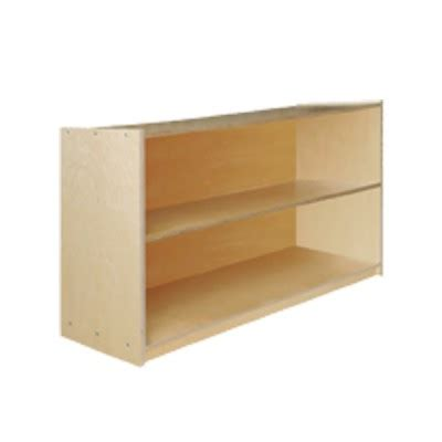 Bookcase With Closed Storage Storage Cabinet With 1 Shelf And Closed Back 48 X 30 Quot X