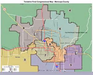 congressional district map arizona tentative maps